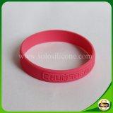 Wristband su ordinazione impresso del silicone di marchio per il partito