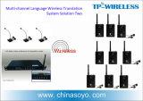 2.4G draadloos Van het Vertaal systeem \ van de Interpretatie van het Systeem \ van de Conferentie Gelijktijdig Draadloos Systeem