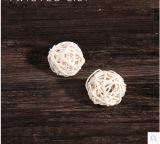 Angemessen kleine Ordnungs-spinnende Rattan-Kugel für Hauptdekoration annehmen