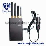 4 Bande 2W 4G LTE Portable brouilleur de téléphone mobile