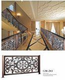 ステンレス鋼の屋内塀の手すりの塀の標準的な様式か現代様式またはヨーロッパ式