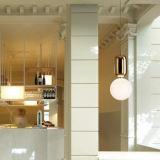 Éclairage s'arrêtant de bille en verre moderne de forme