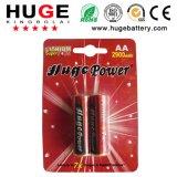 1.5V AA Größen-Lithium-Eisen-Batterie für Kamera (FR6)