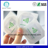 Papieraufkleber des Firmenzeichen-Drucken-13.56MHz RFID NFC mit dem 3m Kleber