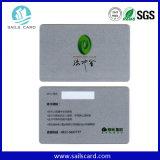Carte de fidélité de PVC de l'impression offset 85.6mm*54mm du modèle 4 d'OEM