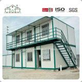 低価格の移動式軽い鉄骨構造フレームの寮またはオフィスのためのプレハブモジュラー容器の家