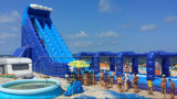Diapositiva de agua inflable del castillo de la playa de Lilytoys para la venta
