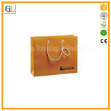 Bolso de papel de lujo de encargo del regalo de las compras (OEM-GL-002)