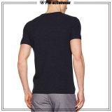 Promotional Man Impressão digital T-shirt de algodão orgânico T-Shirt personalizado
