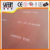 Desgaste laminado en caliente - placa de acero resistente Nm500 de Hardox de la placa de acero