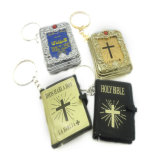 Keyrings Mini Holy Bible Shaped Keychains Wholesale (keychain)