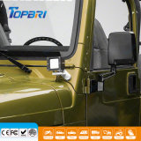 het a-pijler Licht zet de Lichte Steunen van het Windscherm van de Jeep op