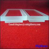 Haute qualité Jgs personnaliser l'échelle de la fenêtre de verre de quartz silice