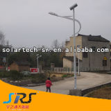 Indicatore luminoso solare del commercio all'ingrosso 5m 30W-100W Sreet con il sistema solare