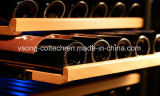 ホテルおよびホーム使用の二重ドアのワイン冷却装置で構築される124L