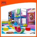 Детей в коммерческих целях дешево для использования внутри помещений мягкая игровая площадка с бассейном шаровой опоры рычага подвески