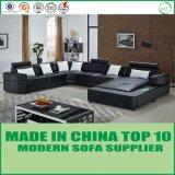 Jogo moderno do sofá da forma da sala de visitas U