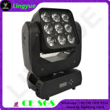 9X10W Faisceau LED Matrice Moving Head lumières Party scène