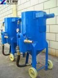 De natte Machine van het Zandstralen met VacuümZandstraaltoestel Dey voor de Verwijdering van de Roest