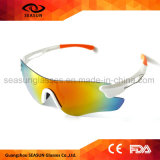 Óculos de sol de condução de ciclagem protetores grandes dos esportes da visão UV400 da forma HD de Frameless
