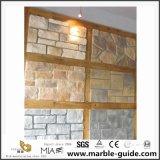 Bâtiment extérieur bardage revêtement de pierre de la culture artificielle