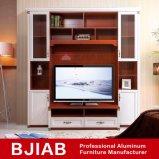 Basamento domestico personalizzato dell'alluminio TV della mobilia di Calssic del teck rosso