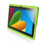 Yuntab 7 pulgadas Quad Core Q88 1.5GHz Android 4.4 Tablet PC Allwinner33 512m de la pantalla capacitiva de 8 GB de ROM Dual Cam Tableta WiFi