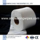 柔らかい網のNonwoven顔タオルか使い捨て可能なNonwovenロール
