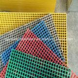 Reja del Mini-Acoplamiento de la plataforma/de la fibra de vidrio de las rejas GRP de FRP/GRP