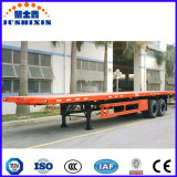 2/3plana de 40 pies de eje remolque contenedor de transporte