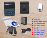 impressora de recibos Térmica Bluetooth Mini portátil suportar o Android e IOS