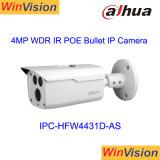Cámara audio Ipc-Hfw4431d-as del IP de la red del punto negro del Poe 4MP WDR Lxir del infrarrojo de la alarma de Dahua