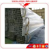 Tubo de acero galvanizado poste del cuadrado hueco de la sección de la cerca del metal de ERW