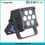 Contrôleur DMX haute puissance 7x10W par LED RGBW pour DJ