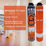 750ml 900g machen Polyurethan PU-Schaumgummi-Spray-Gap-Filler feuerfest