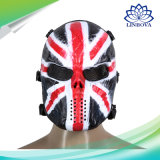Halloween Cosplay党頭骨マスクのAirsoft Paintballの太字マスク