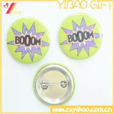 Logotipo personalizado Tin/ Button Badge para regalo de promoción (YB-BB-02)