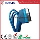 100% probado plano azul 1.5m 21pin Cable Scart (SY017)