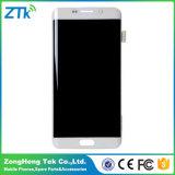 Экран мобильного телефона для края Samsung S6 плюс индикация LCD