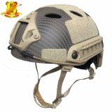 Tácticas de combate ajustável corrida capacete de protecção rápido para a actividade de Paintball