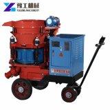 Utiliza la construcción del túnel de transmisión del motor de aire húmedo gunitadora profesional