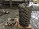 Resíduos de eixo duplo máquina triturador de plástico industriais