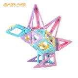 62PCS The fashion Children Toy Assembles Magnetic Tiles
