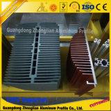 6063 het Aluminium Heatsink van de legering om de Ventilator van Heatsink van het Aluminium