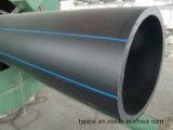 PE100 de gran diámetro del tubo de HDPE