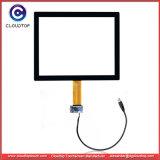 Kiosque de 15 pouces écran tactile 4 : 3 ports USB de la technologie capacitive projetée CT-C8152-15