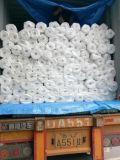 Tecidos de revestimento retardante de chama branca Poli Lençóis Tarps Construção