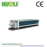 Unidad encubierta horizontal de la bobina del ventilador del certificado del Ce con el termóstato y la válvula de dos vías