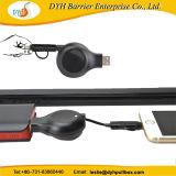 iPhoneの人間の特徴をもつ携帯電話のための1つの引き込み式USBケーブル巻き枠に付きポータブル2つ