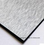 Hojas compuestas plásticas de aluminio materiales de la construcción de edificios (ALB-076)